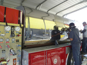 fire truck 4 280x210 Tank Polishing