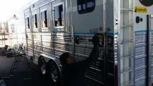 20150213 123304 300x169 Horse trailer polishing